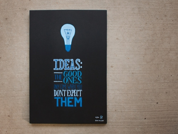 SM - IDEAS The Good Ones Only Come When You Don't Expect Them