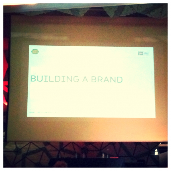 CARBON 2013 - Forum A_Building A Brand
