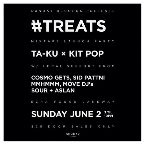 Ta-ku x Kit Pop - #TREATS Launch Party