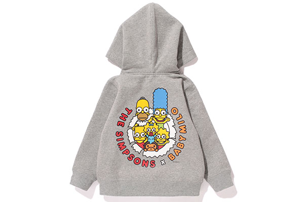 A Bathing Ape x The Simpsons_Hoodie