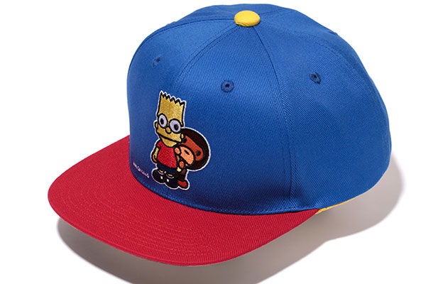 A Bathing Ape x The Simpsons_Snapback