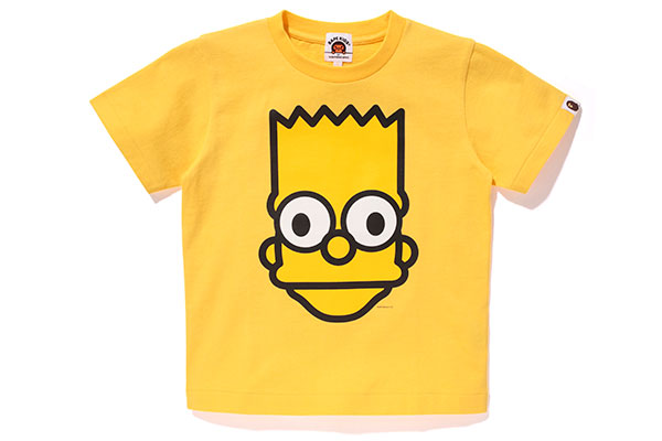 A Bathing Ape x The Simpsons_Tee