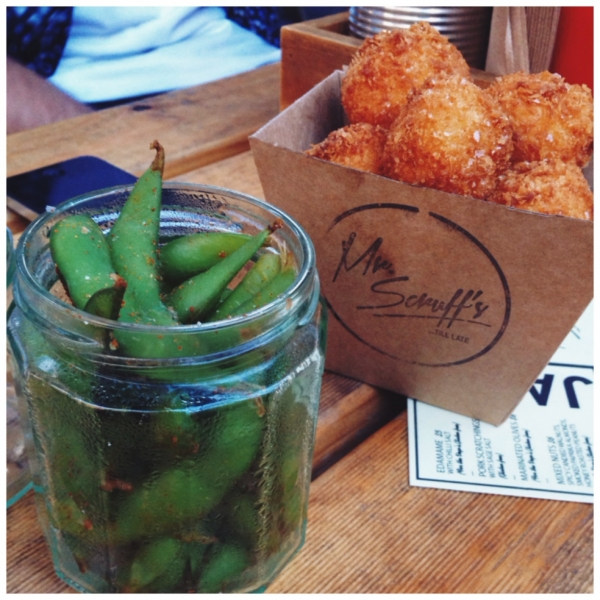 Bloggers Dinner hosted by Mr Scruff's_Edamame and Mini Croquetas