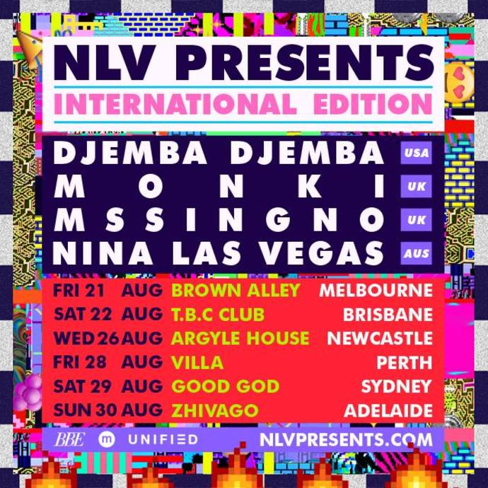 NLV Presents International Edition Tour Poster