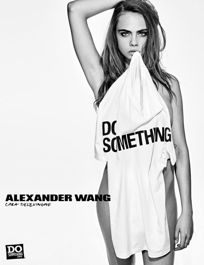 Alexander Wang Do Something Campaign - Cara Delevingne