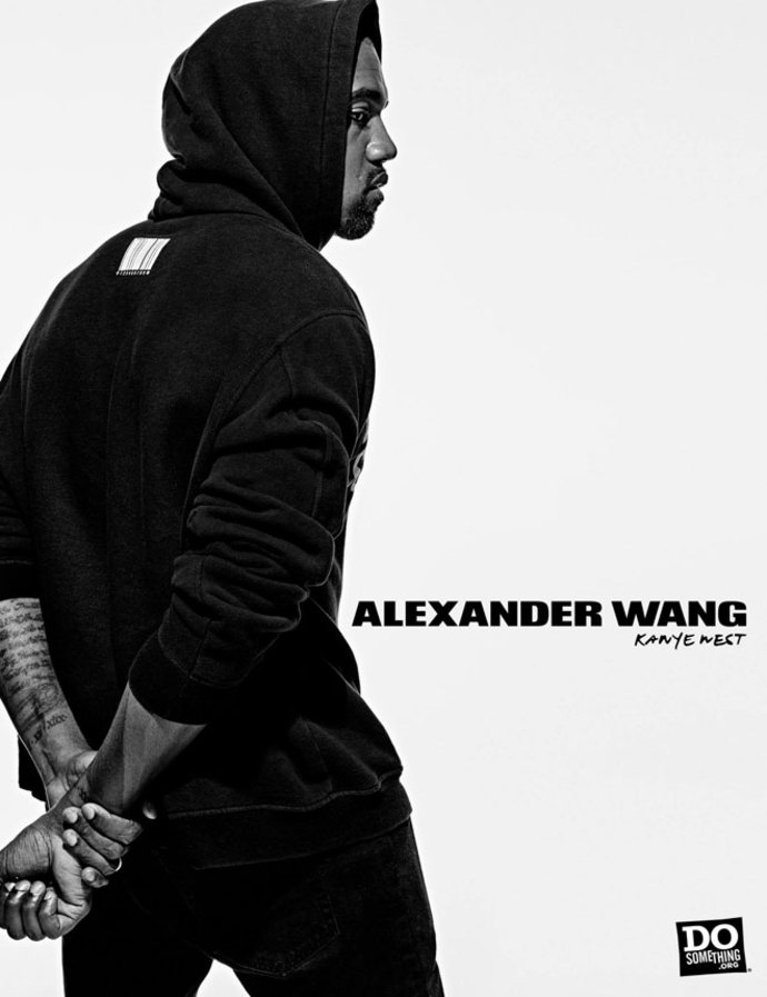 Alexander Wang Do Something Campaign - Kanye West