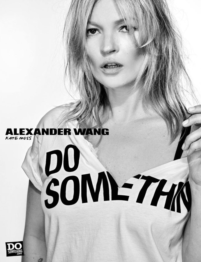 Alexander Wang Do Something Campaign - Kate Moss