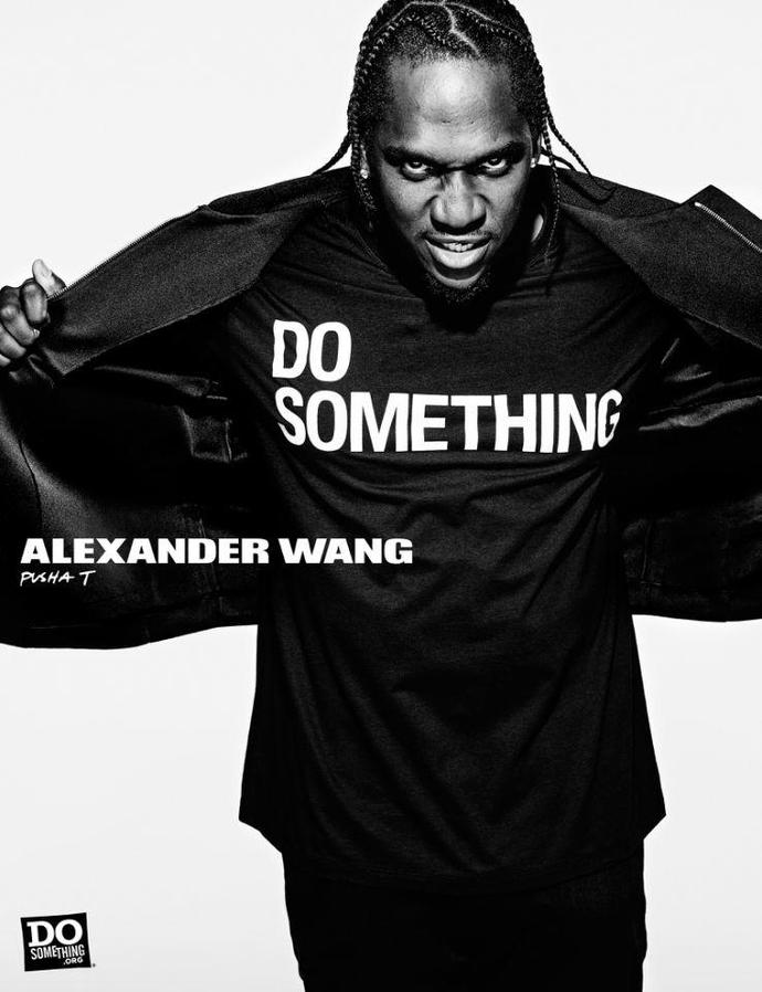 Alexander Wang Do Something Campaign - Pusha T