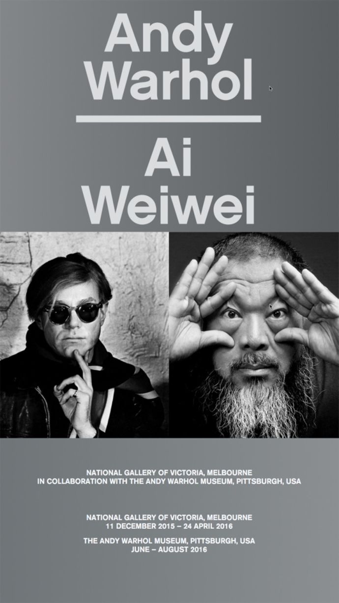 Andy Warhol | Ai Weiwei at NGV Melbourne