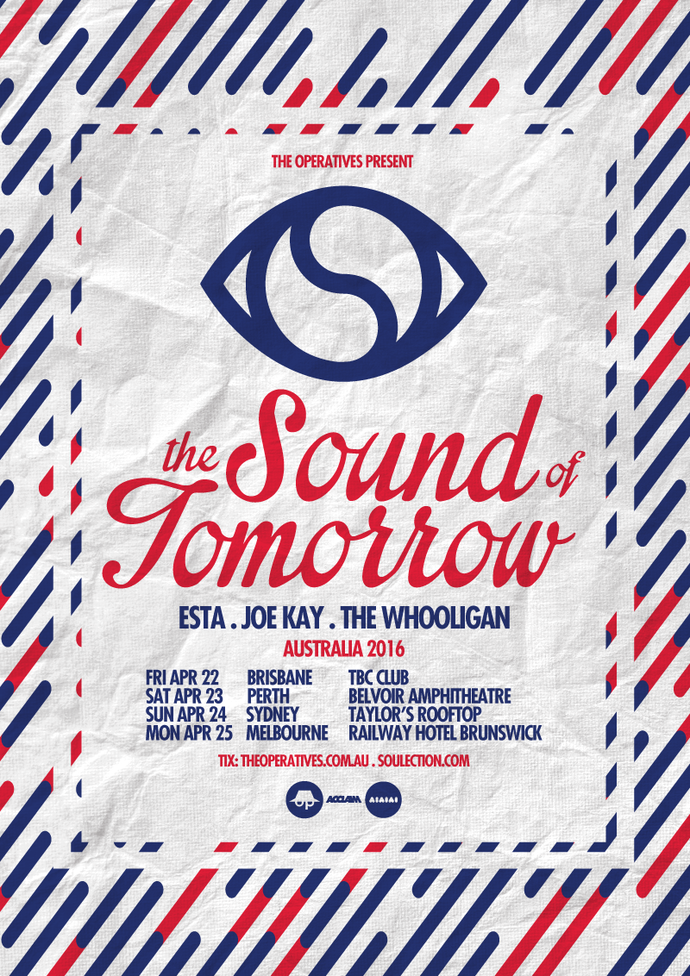 Soulection Australian Tour 2016