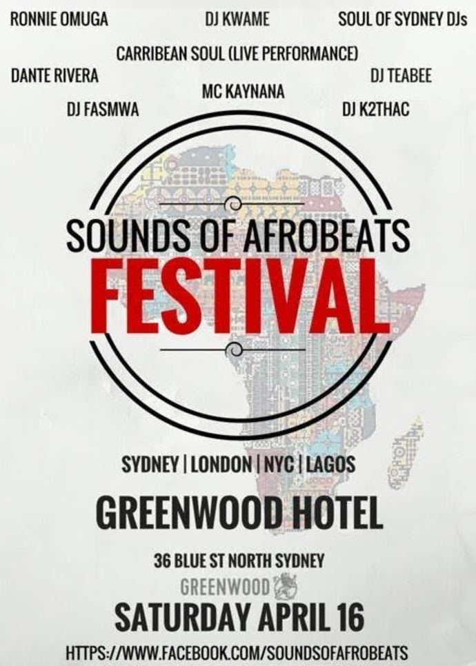 Sounds of Afrobeats Festival